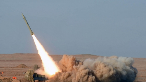 دفاعات التحالف تعترض 5 صورايخ باليستية كانت تستهدف عرضاً عسكرياً في مأرب