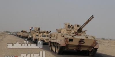 قوات العمالقة تستهدف تحصينات الميليشيات في الحديدة