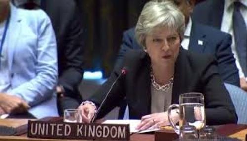 ماي: إمداد إيران للحوثيين وحزب الله بالصواريخ يهدد بتصعيد خطير
