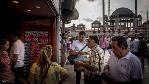"""انهيار قياسي لـ""""الثقة"""" بالاقتصاد التركي"""
