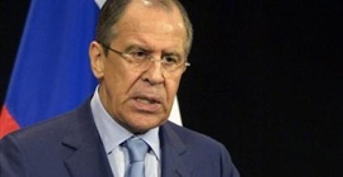 لافروف يطالب المجتمع الدولي بالمساعدة في إعادة إعمار سوريا