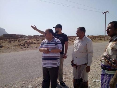 انطلاق أعمال تنفيذ مشروع كهرباء مديرية قلنسية وعبدالكوري (صورة)