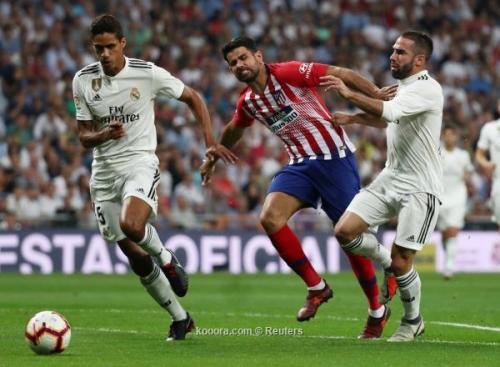 شاهد مباشر .. مباراة ديربي مدريد الريال واتلتيكو