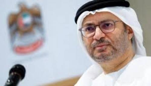 قرقاش: المجتمع الدولي صرف نظر عن الأزمة القطرية