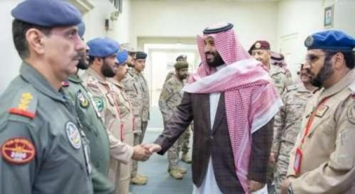 ولي العهد السعودي يستعرض سير العمليات العسكرية لقوات التحالف