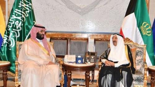 ولي العهد السعودي يختتم زيارة سريعة للكويت