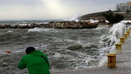 إعصار البحر المتوسط يصل تركيا واليونان نهاية الأسبوع