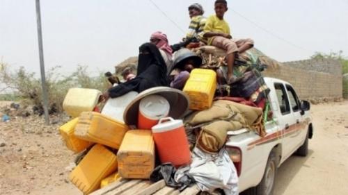 غضب حكومي من أداء منظمات الإغاثة الدولية لنازحي عدن