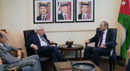 لهذه الأسباب.. المبعوث الأممي لليمن يزور الأردن