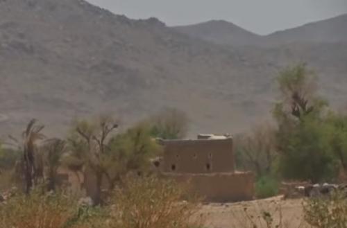 شاهد مغارة المليشيات المستخدمة كغرفة عمليات بصعدة