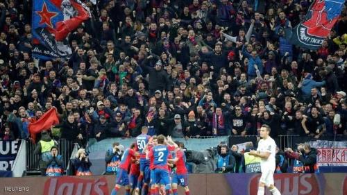 ريال مدريد يسقط في موسكو