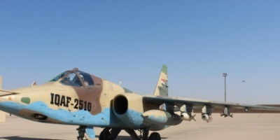 """العراق يستعرض اختبار قنابل """"فاب"""" المصنوعة لـ""""الدبابات الطائرة"""""""