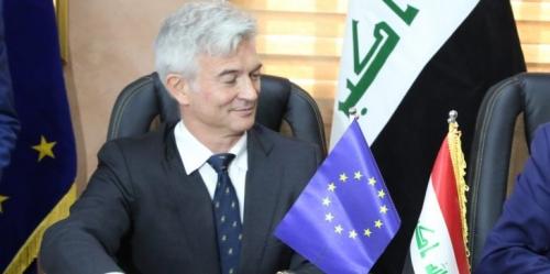 في واقعة غريبة.. إصابة سفير الاتحاد الأوروبي في العراق بتسمم