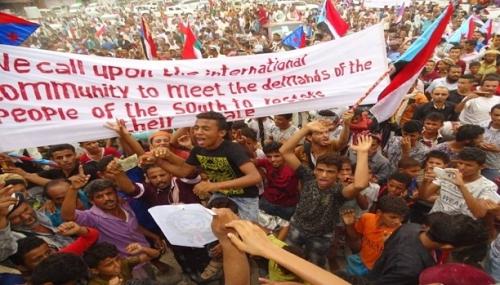 مجموعة أكتوبر الجنوبية تدعو الشعب إلى التمسك بمطالبه
