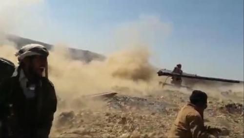 قصف مواقع الحوثيين بمحافظة البيضاء