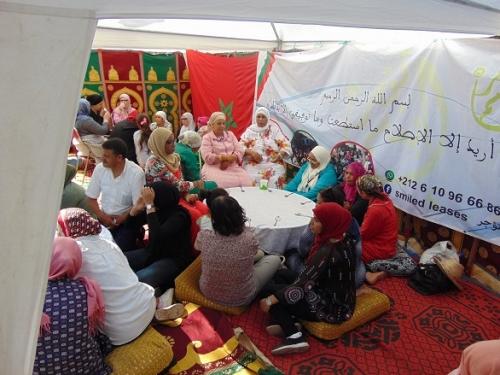 أرملة مغربية تحول منزلها إلى ملجأ لمريضات السرطان