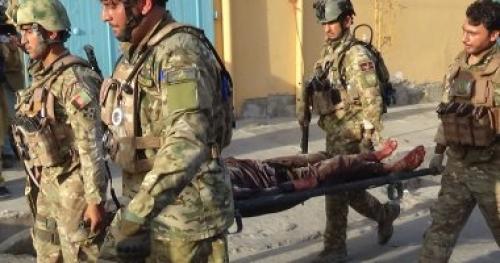 مقتل وإصابة 11 من رجال الأمن بأفغانستان