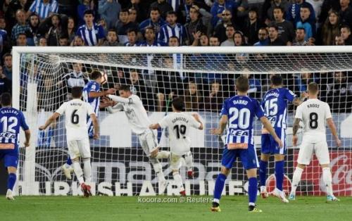 بالصور.. ريال مدريد يتعثر أمام ألافيس بطعنة قاتلة