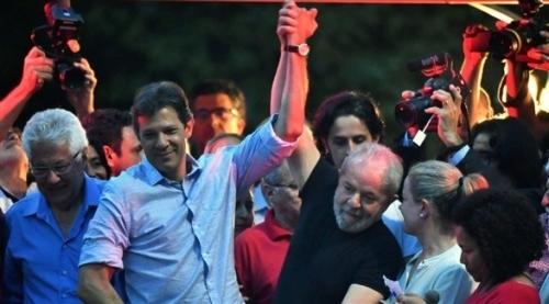 لولا دا سيلفا يحث البرازيليين على التصويت لصالح حداد