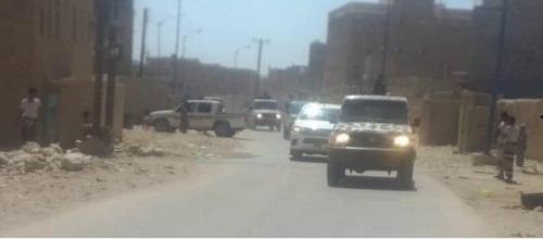 بالصور.. قوات النخبة الشبوانية تزور مدينة الروضة
