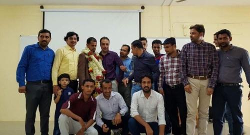 الهند تكرم عالما يمنيا لحصوله على الدكتوراه في مجال التقنية المعلوماتية