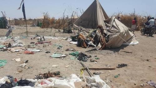 جريمة بحق الإنسانية.. عشرات القتلى بينهم أطفال بقصف للمليشيات الإرهابية بالحديدة