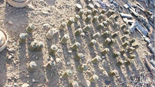 قوات الشرعية تواصل إزالة الألغام الحوثية في «باقم»