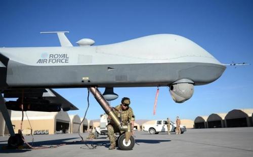 بريطانيا تستخدم طائرات حربية مسيرة في مواجهة روسيا