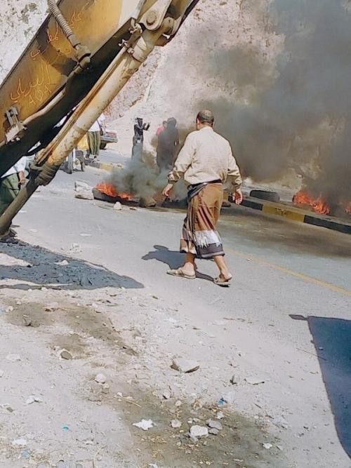 """احتجاجات على مدخل المدينة القديمة """"كريتر"""" «صور»"""