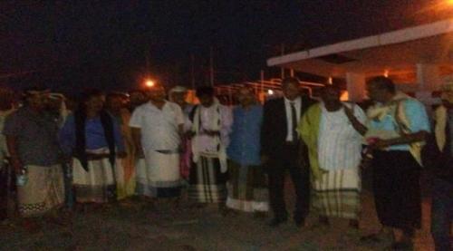 وصول أول وفد من سقطري للمشاركة في احتفالات ذكرى 14 أكتوبر ( صورة )