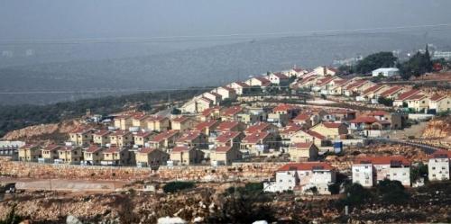 بناء مستوطنات إسرائيلية جديدة في مدينة الخليل بفلسطين