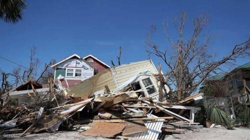 إعصار مايكل يجتاح فلوريدا ويخلف الموت والدمار