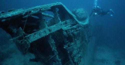 اكتشاف حطام 58 سفينة غارقة بالبحر للمتوسط ستغير التاريخ