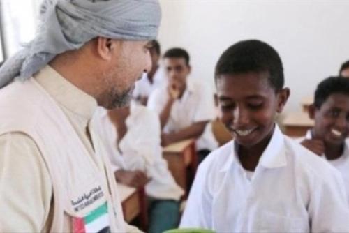 تفاصيل افتتاح مدرسة بشقرة بعد تأهيلها من الهلال الأحمر الإماراتي