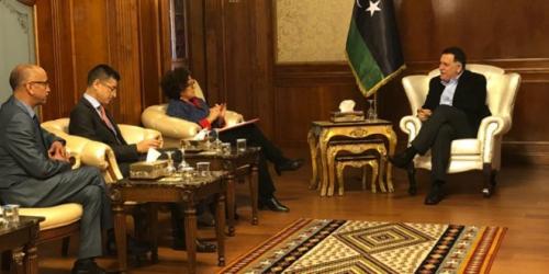 فرنسا تدعم الانتخابات الليبية ب٦٥٠ ألف يورو