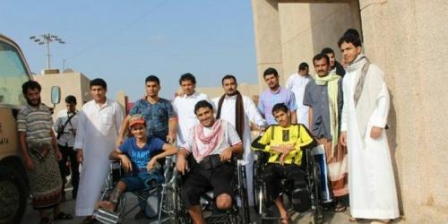 إرسال الدفعة الثانية من مصابي القوات العسكرية للعلاج بمصر