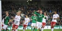 التعادل يحسم مباراة الدنمارك وأيرلندا