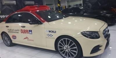 """تشغيل تجريبي لأول """"تاكسي"""" ذاتي القيادة في دبي"""