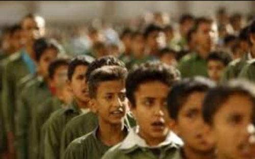 مليشيات الحوثي تقيم فعالياتها الطائفية في المدارس الأهلية بذمار