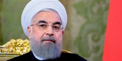 روحاني يتهم أمريكا بالسعي لتغيير نظام الحكم في إيران