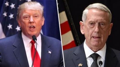 ترامب يلمح باحتمال تقديم وزير الدفاع الأمريكي استقالته