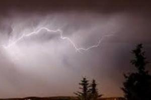 عواصف رعدية ممطرة تضرب مناطق بحضرموت