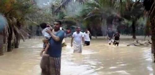 الأمم المتحدة تعلن عدد الأسر النازحة بسبب إعصار لبان بالمهرة