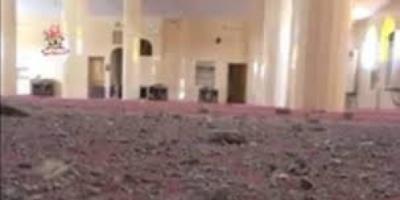 المليشيا تستهدف بيوت الله وتقصف مسجد الهدى في حي المنظر بالحديدة «فيديو»