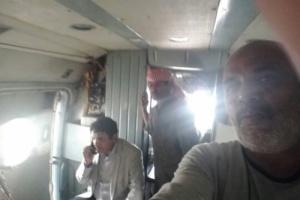 أول ظهور للطيران اليمني في المهرة بعد إعصار «لبان».. ماذا يفعل؟ (صور)