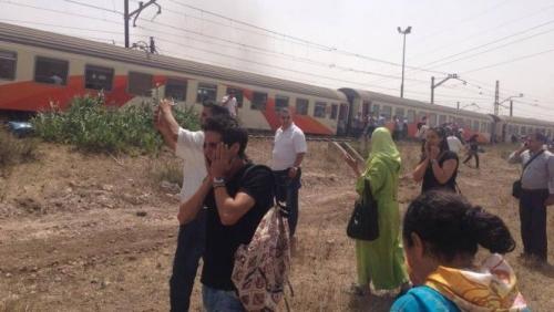 دماء على القضبان.. حوادث القطارات في المغرب «صور»