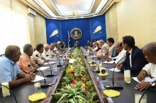 اجتماع قيادات المجلس الانتقالي الجنوبي برئاسة الزبيدي «تفاصيل»
