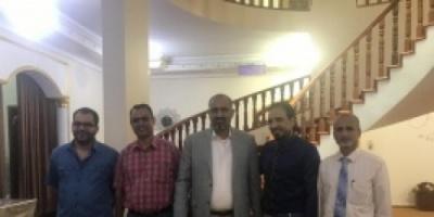 رئيس المجلس الانتقالي يزور جامعة عدن «تفاصيل»