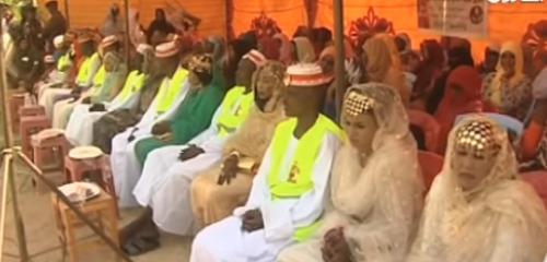 زفاف جماعي لنزلاء في سجن مركزي بالسودان «فيديو»