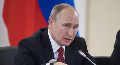 بوتين يتوعد بسحق أي معتدي على روسيا بالأسلحة النووية